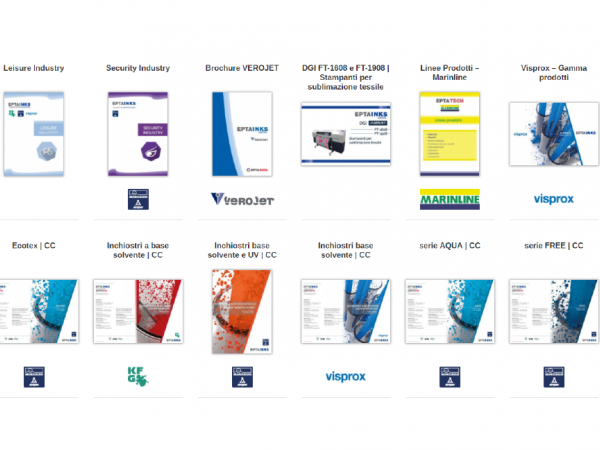 brochure and catalogues