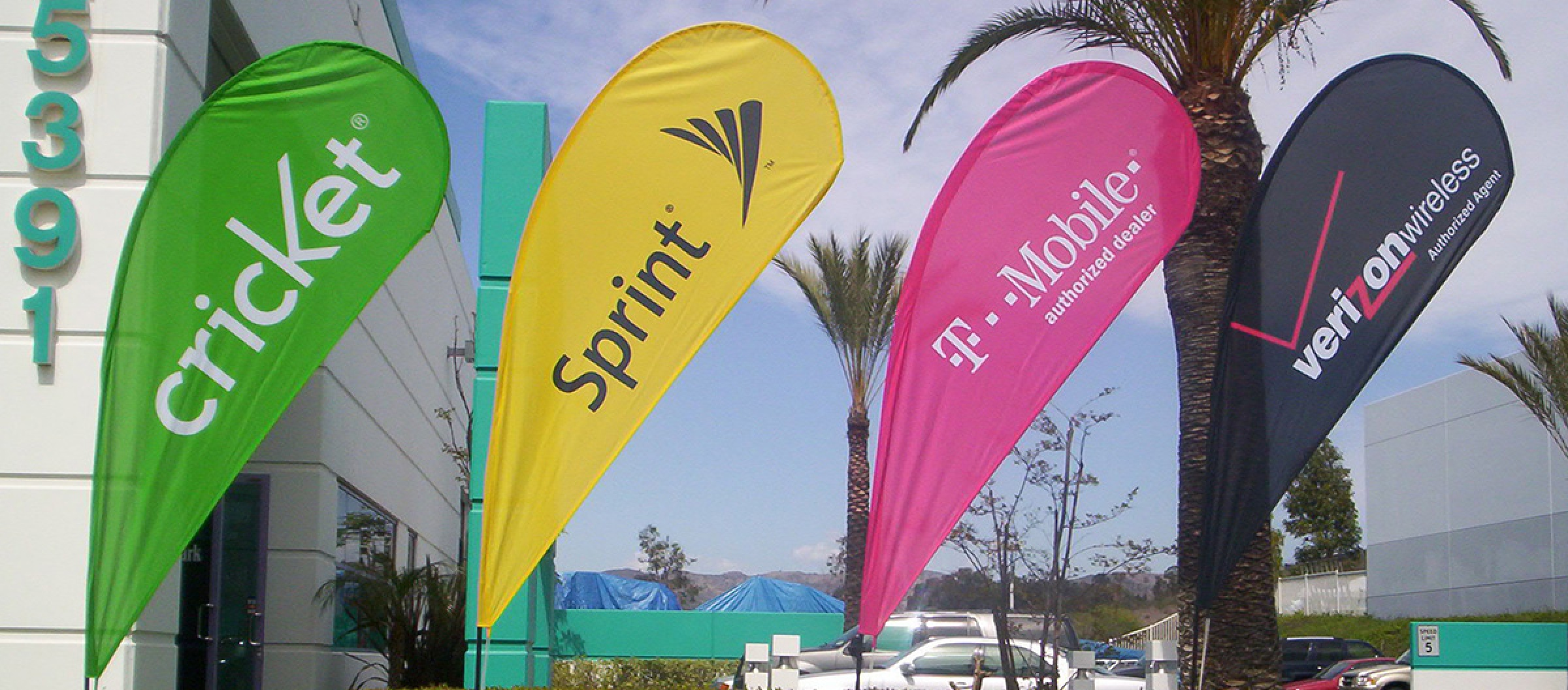 Signage Flags and Banner