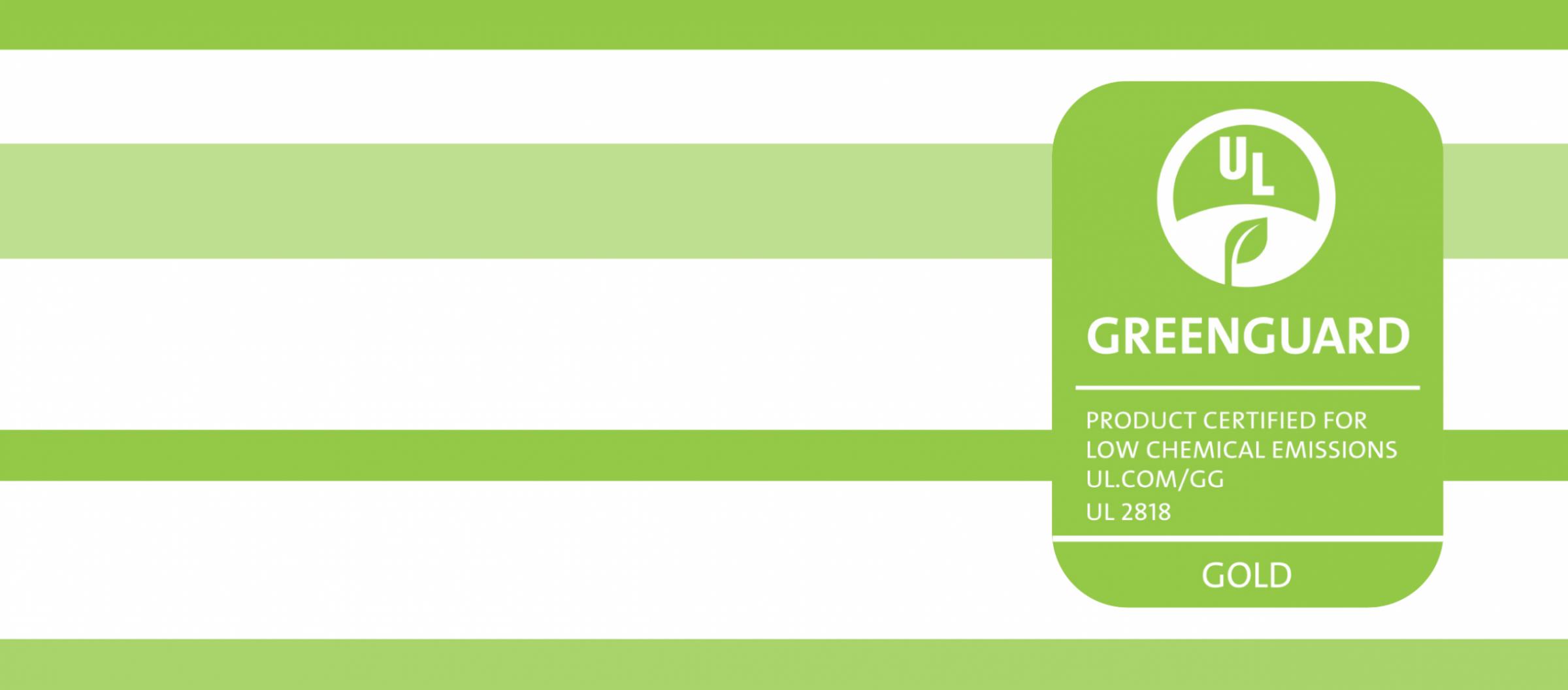 Certificazione Greenguard Gold