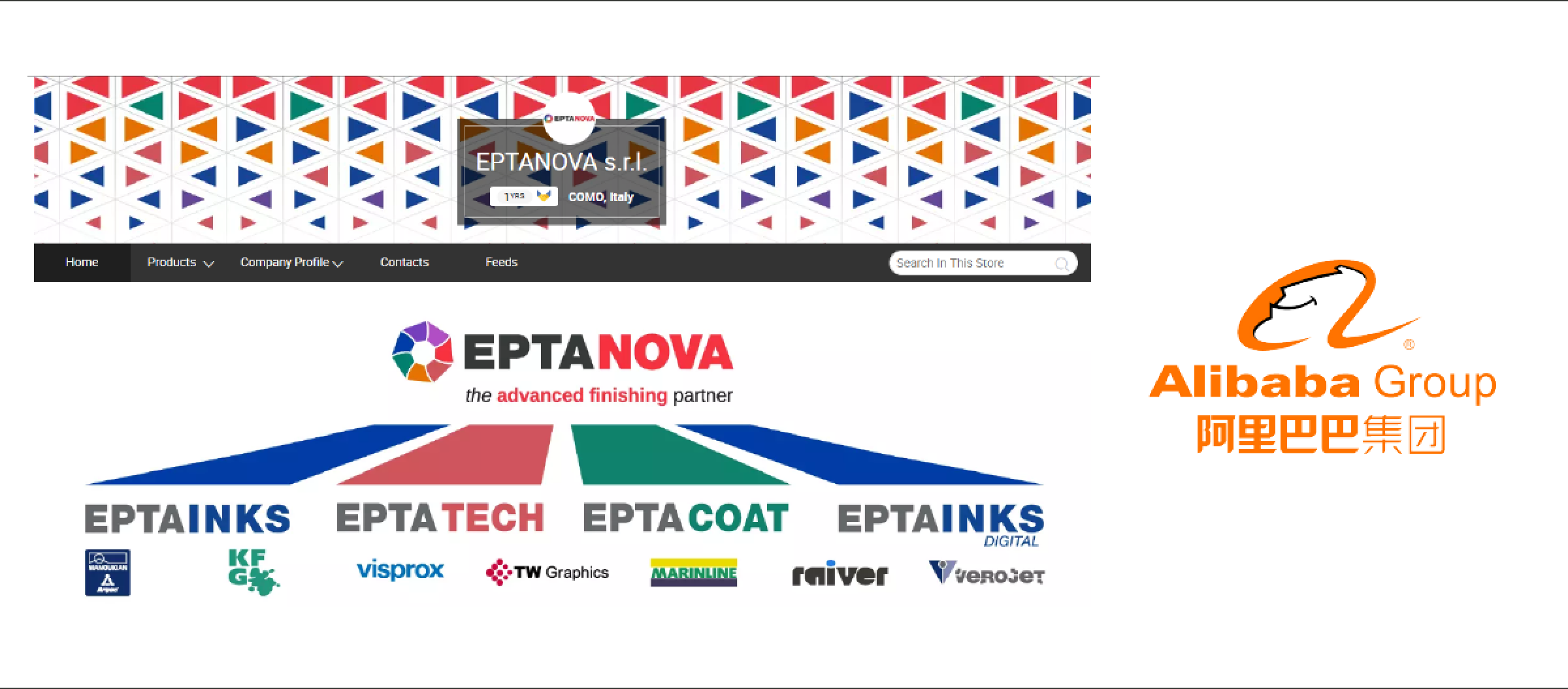 Eptanova Alibaba