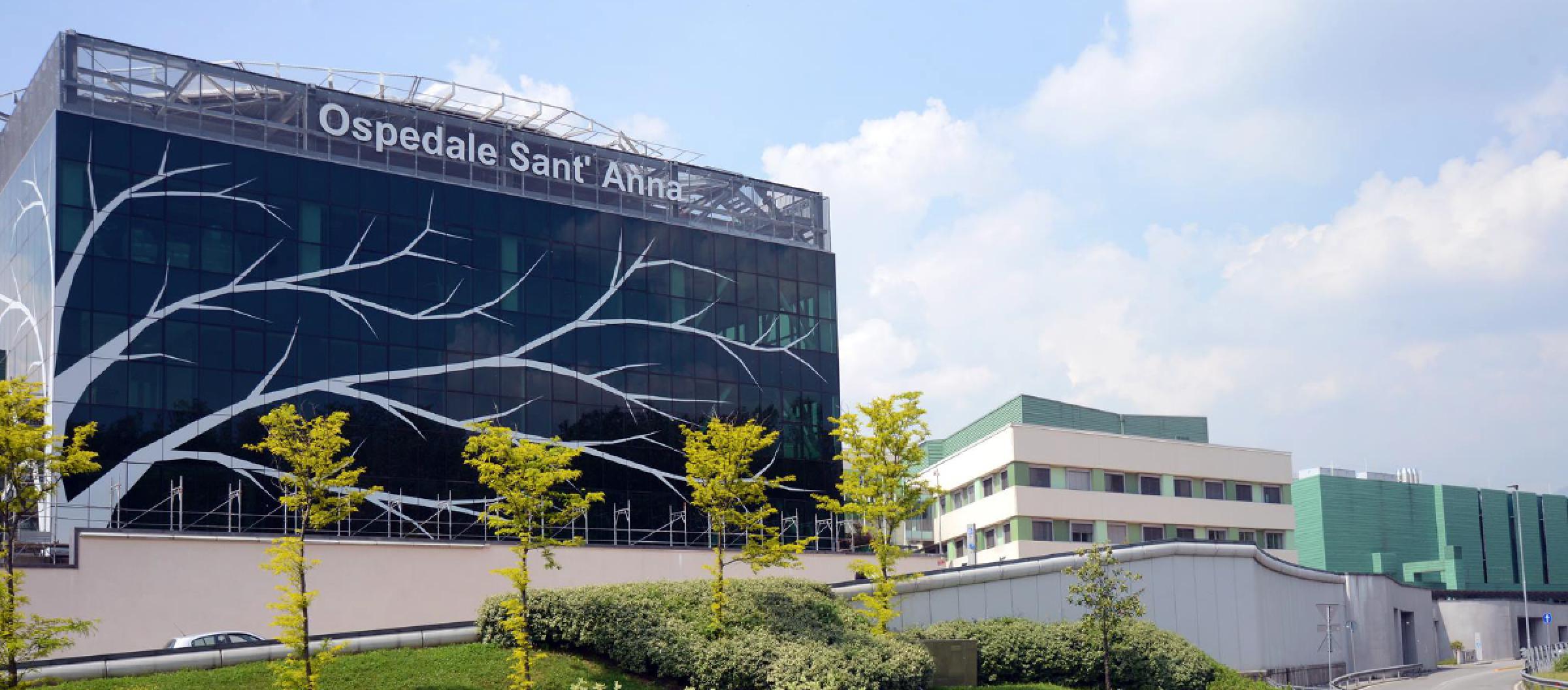 Donazione ospedale Sant'Anna Como