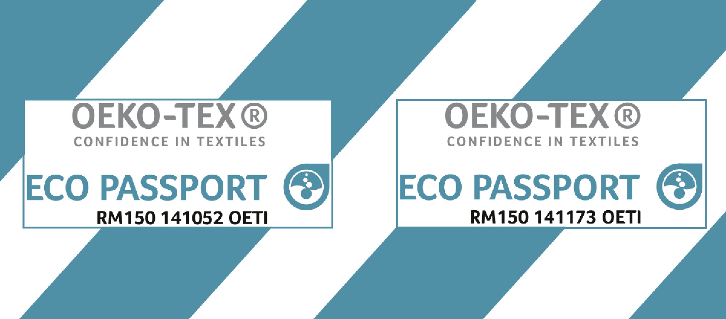Eco Passport Oekotex Eptainks