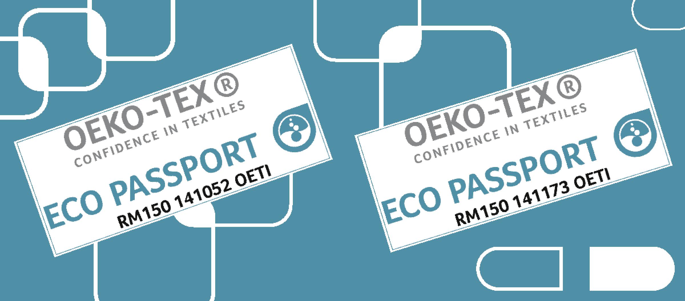 Eco-Passport Oeko-Tex 2020