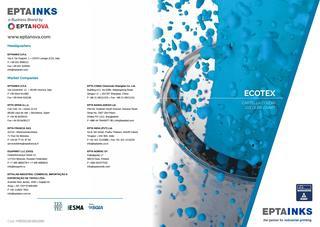 EPTAINKS – Ecotex Colours Chart / Cartella colori