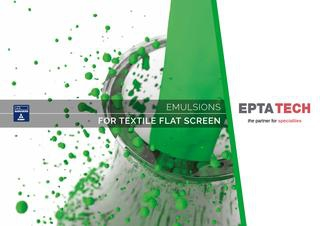 EPTATECH – Photoemulsions for Textile flat screen