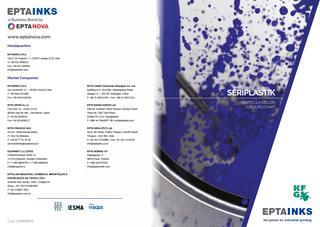 EPTAINKS – Seriplastik Colours Chart / Cartella colori