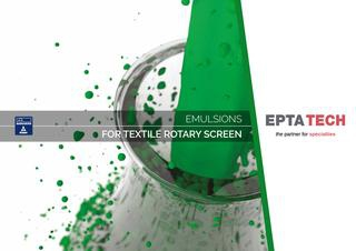 EPTATECH – Photoemulsions for Textile Rotary screen