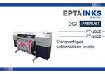 DGI FT-1608 e FT-1908 | Stampanti per sublimazione tessile