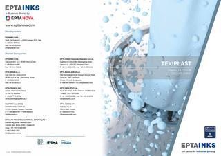 EPTAINKS – Texiplast Colours Chart / Cartella colori